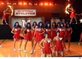 Una coreografia dell'episodio del Super Bowl di Glee