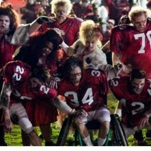 Una scena dell'episodio del Super Bowl di Glee