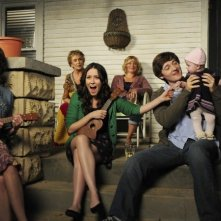 Una scena dell'episodio Meet The Grandparents di Raising Hope