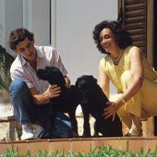 Ayrton Senna con la sorella Viviane nel film Senna
