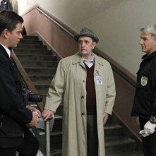 Mark Harmon, Bob Newhart, Michael Weatherly nell'episodio Recruited di NCIS