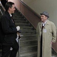 Michael Weatherly e Bob Newhart in una scena dell'episodio Recruited di NCIS