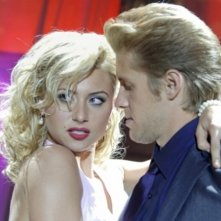 Aly Michalka e Matt Barr in una scena dell'episodio Pledging My Love di Hellcats