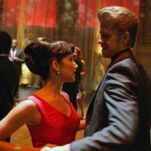 Ashley Tisdale e Matt Barr in una scena dell'episodio Pledging My Love di Hellcats