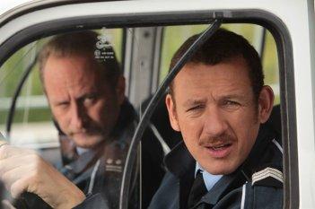Benoît Poelvoorde e Dany Boon, protagonisti della commedia Rien à déclarer