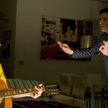 Ficarra e Picone in una scena del film Femmine contro Maschi