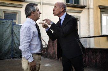 Gianfelice Imparato e Peppe Servillo in una scena del film Into Paradiso (2010)