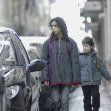 Guillermo Estrella e Hanaa Bouchaib, i piccoli protagonisti del dramma Biutiful