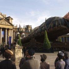 Jack Black in una sequenza de I fantastici viaggi di Gulliver in 3D