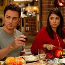 Kerr Smith e Shiri Appleby nell'episodio Thanks Ungiven di Life UneXpected