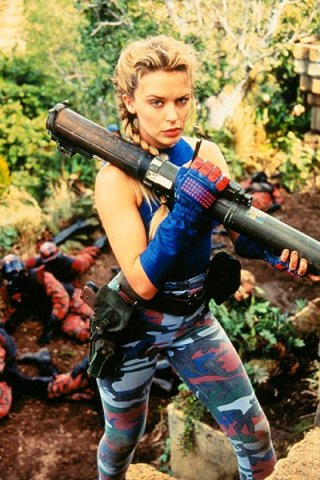 Kylie Minogue in Street fighter