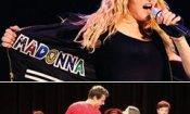 Madonna in tour con le star di Glee?