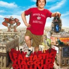 Poster italiano de I fantastici viaggi di Gulliver in 3D