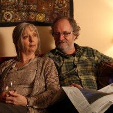 Una sequenza del film Another Year con Jim Broadbent e Ruth Sheen