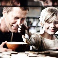 Emma Schweiger con il papà Til Schweiger nella commedia Kokowääh