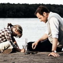 Emma Schweiger con Samuel Finzi in una scena della commedia Kokowääh