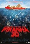 La locandina italiana di Piranha 3D