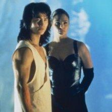 Robin Shou e Talisa Soto in Mortal Kombat - Distruzione totale