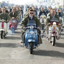 Sam Riley in un'immagine del film Brighton Rock