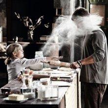 Til Schweiger con la figlia Emma nel suo film Kokowääh