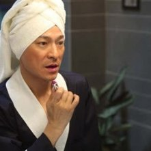 Una divertente immagine di Andy Lau dal film I Know a Woman's Heart