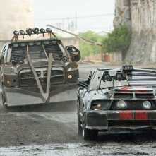 Una movimentata scena del film Death Race 2