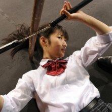 Takeda Rina, protagonista di Karate Girl