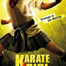 Un poster del film Karate Girl