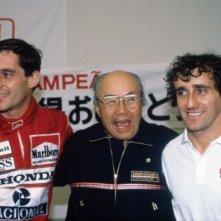Ancora Ayrton Senna con Alain Prost nel film Senna