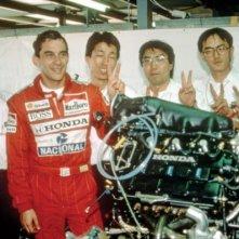 Ayrton Senna in Giappone nel film Senna
