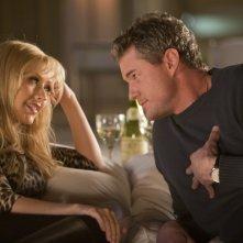 Christina Aguilera con Eric Dane nel film Burlesque