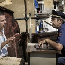 Gianfelice Imparato con Gianni Ferreri nel film Into Paradiso (2010)