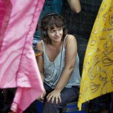 La regista Paola Randi sul set del film Into Paradiso (2010)