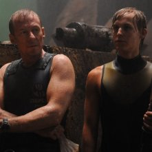 Richard Roxburgh con Rhys Wakefield in una immagine del film Sanctum 3D