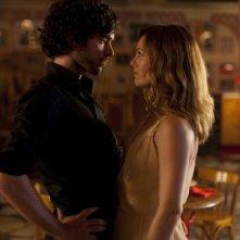 Romain Duris e Vanessa Paradis nella scena del ballo nel film Heartbreaker