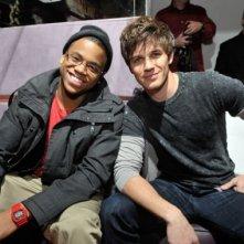 Tristan Wild e Matt Lanter, interpreti di 90210