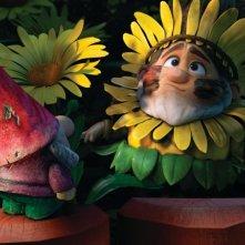 Benny in una scena del film Gnomeo & Juliet