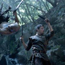 Channing Tatum in una sequenza del film The Eagle