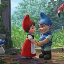 Gli innamorati protagonisti di Gnomeo & Juliet