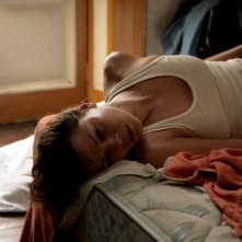 Jessica Schwarz in un momento drammatico del film Das Lied in mir