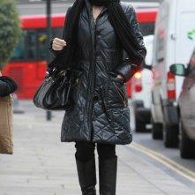 Kylie Minogue e il suo fidanzato lasciano la loro casa di West London