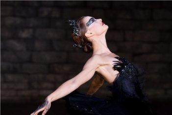 Natalie Portman nel ruolo di Odette in Black Swan