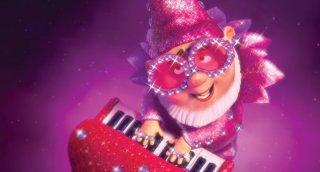 Una scena del film Gnomeo & Juliet col piccolo Paris