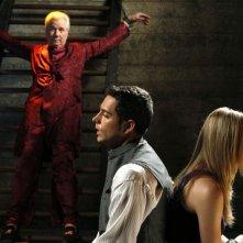 John Larroquette, Zachary Levi e Yvonne Strahovski in Chuck Versus the Seduction Impossible