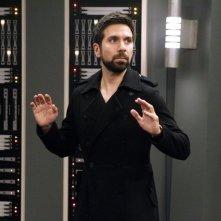 Joshua Gomez in una scena dell'episodio Chuck Versus the Push Mix