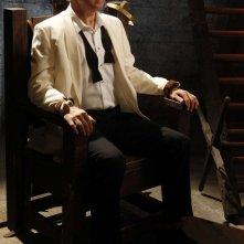 Roan Montgomery (John Larroquette) in trappola nell'episodio Chuck Versus the Seduction Impossible