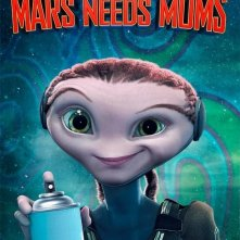 Character Poster 1 per Mars Needs Moms (Milo su Marte)