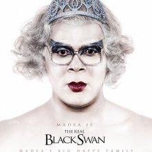 La locandina di Madea's Big Happy Family a tema Black Swan