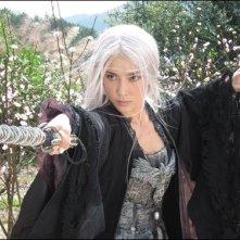 Li Bingbing in una scena del film The Forbidden Kingdom