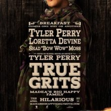 La locandina di Madea's Big Happy Family a tema True Grit